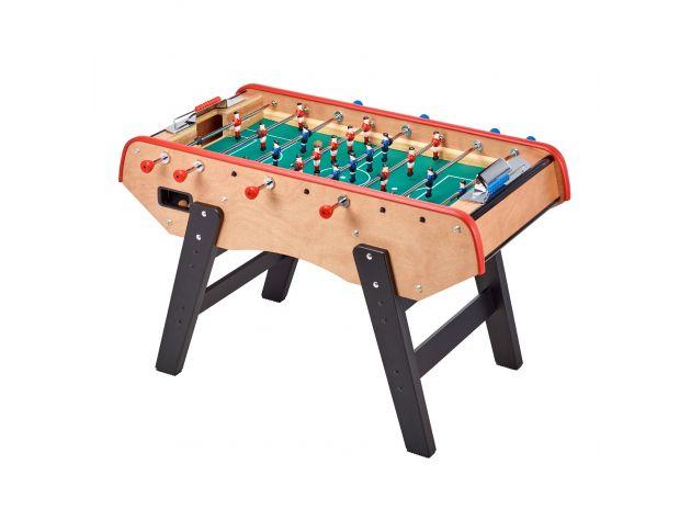 Babyfoot Adulte Luxe en bois - barres télescopiques - 2 à 4 joueurs