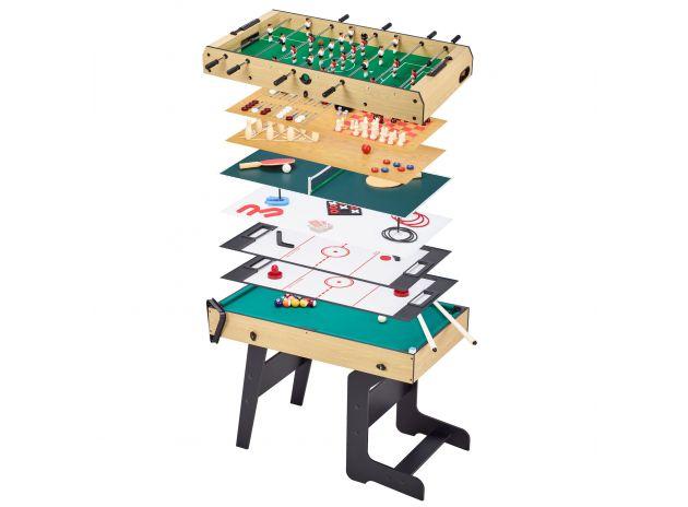 Table multi jeux pliable 16 en 1 ado