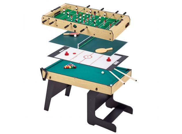 Table multi jeux pliable 4 en 1 adulte