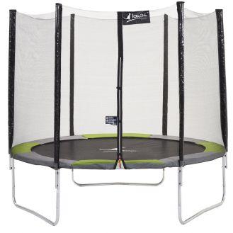 Trampoline de jardin avec filet Yzi , votre trampoline enfant pas cher !