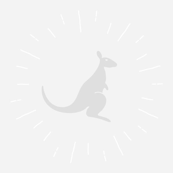 Trampoline Jumpi POP rond avec filet de protection, échelle et couverture de propreté kangui.