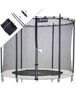 Filet de remplacement universel pour trampoline rond de jardin
