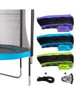 Enveloppe de coussin pour trampolines Punchi + jupe + élastiques + attaches