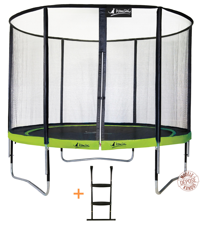 image trampoline de jardin Punchi pour usage familial