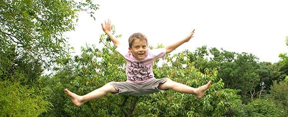 trampoline activité rebondissante