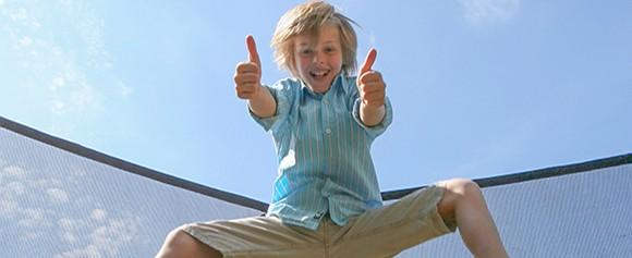 Le trampoline activité rebondissante