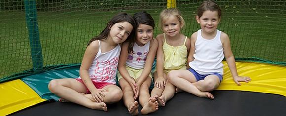 Le trampoline, seul ou à plusieurs