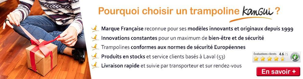 Découvrez kangui la célebre marque française de trampolines