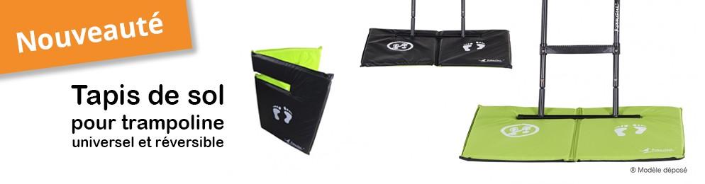 Tapis de sol pour trampoline universel et réversible un accessoire inédit et exclusif Kangui