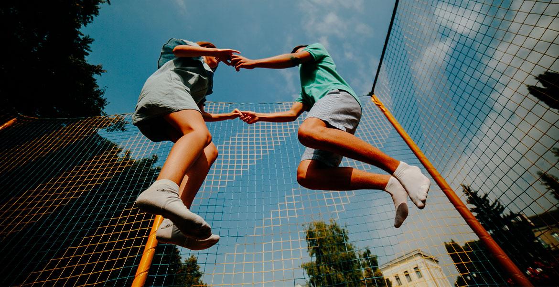 Maigrir et garder la ligne avec le trampoline : Fitness & Cardio | Kangui trampolines