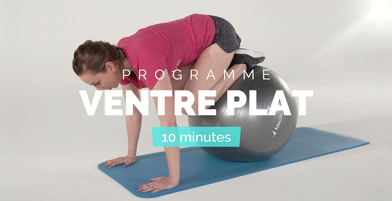 5 exercices « ventre plat » en 10 minutes par jour
