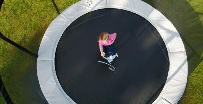 Le trampoline Famili : une fabrication européenne
