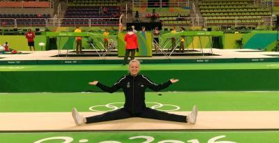 Le trampoline sport olympique   Histoire de la discipline par Kangui Trampolines