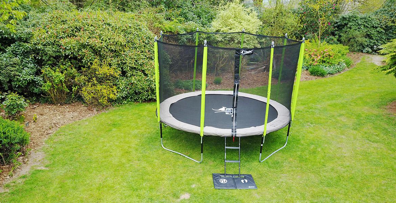 Le trampoline JUMPI, fruit de l'expérience et du savoir-faire de Kangui depuis 1999