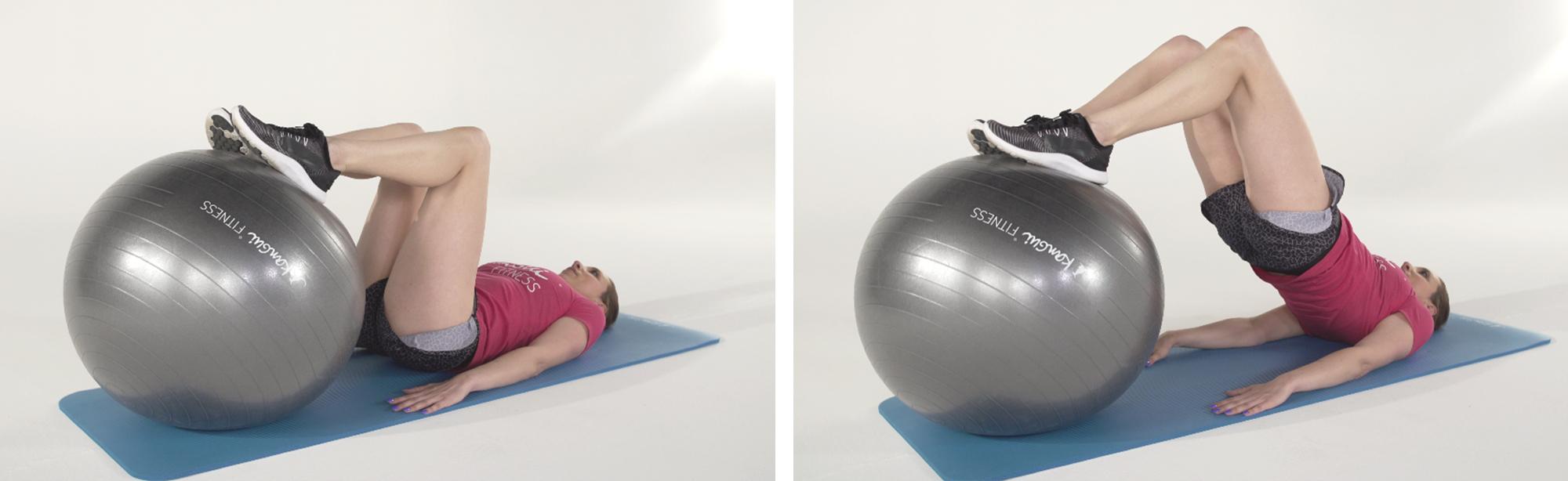 ÉLÉVATION BASSIN ventre plat exercice fitness