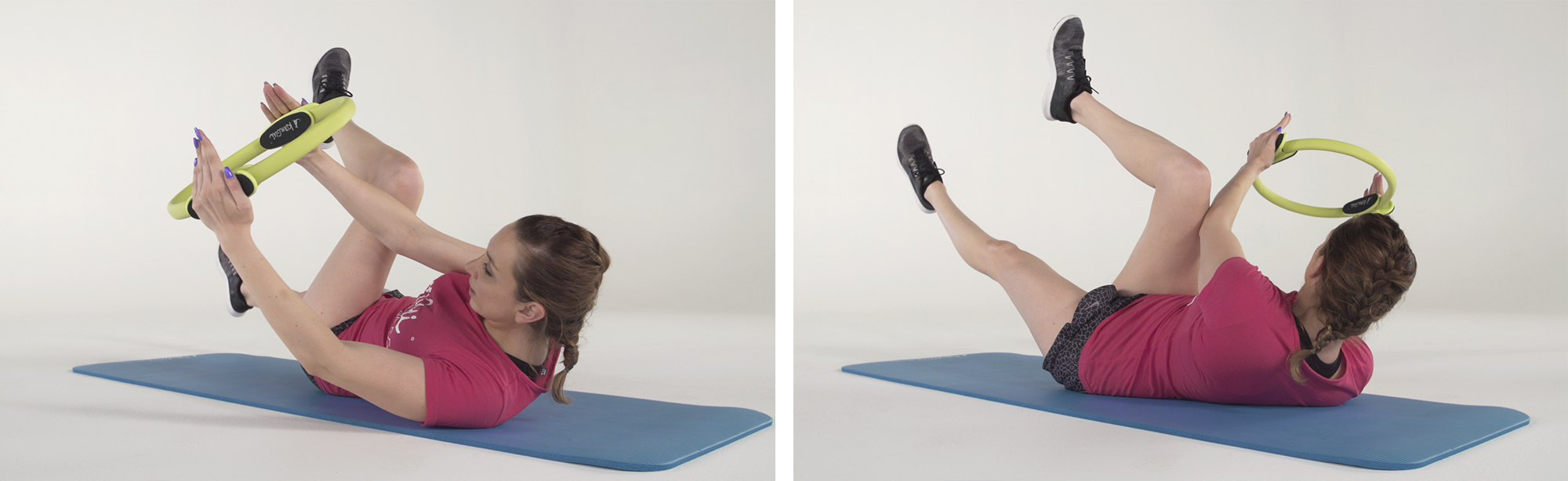 CRUNCH OBLIQUE ventre plat exercice fitness