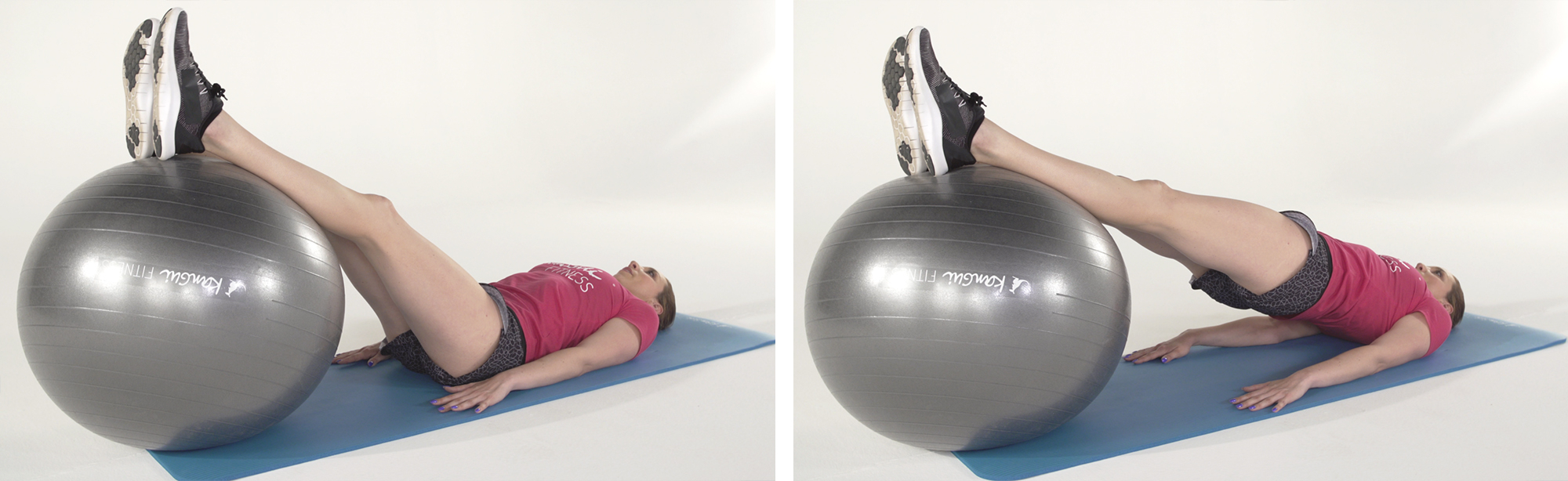 GAINAGE BALLON ventre plat exercice fitness