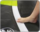 Coussin de protection des ressorts du trampoline en PVC épais