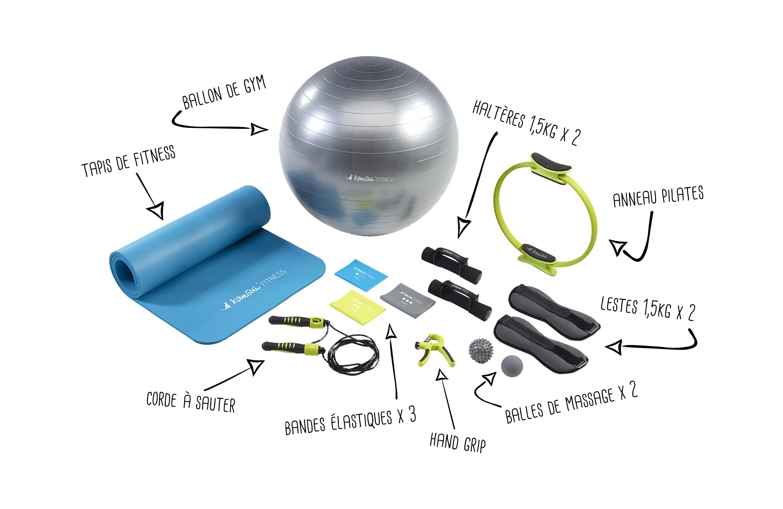 Accessoires du Pack Home Fitness Kangui