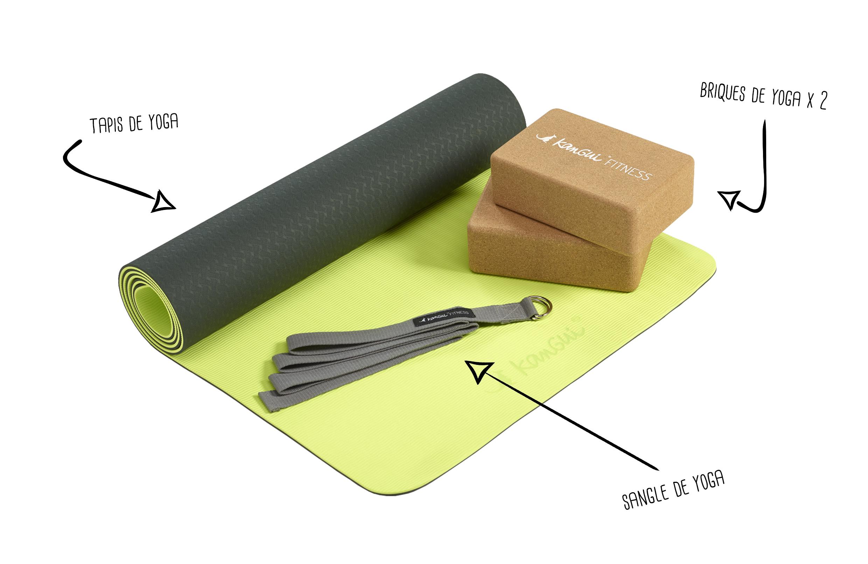 Accessoires du Pack Yoga Kangui