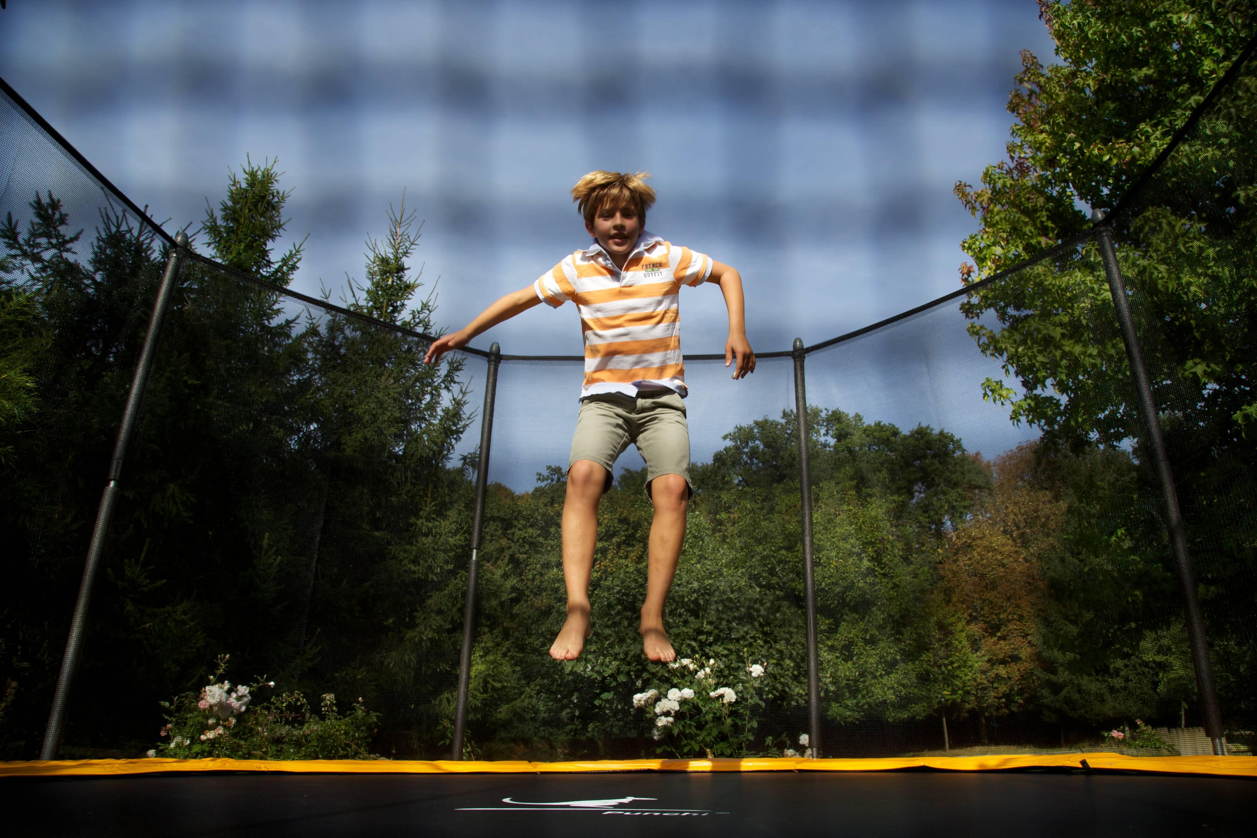 bienfait du trampoline enfant