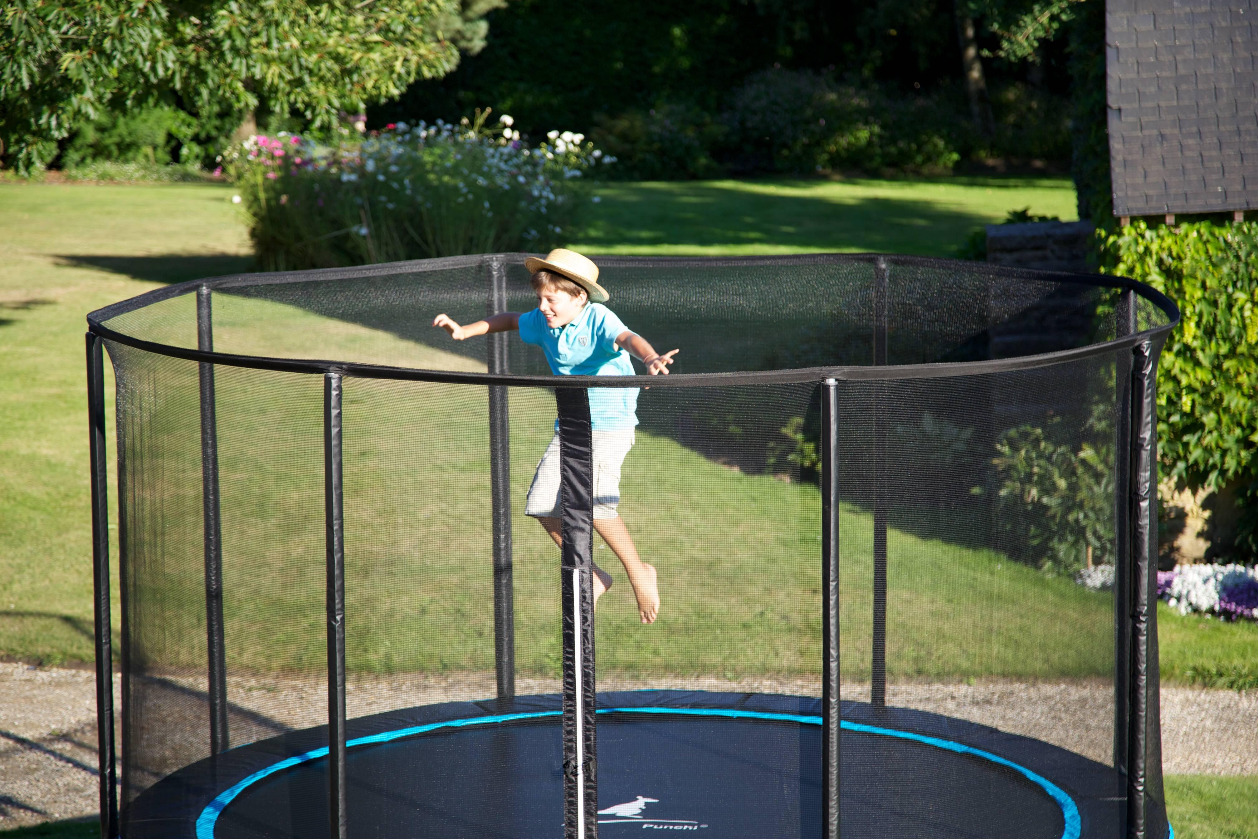 Plaisir du trampoline
