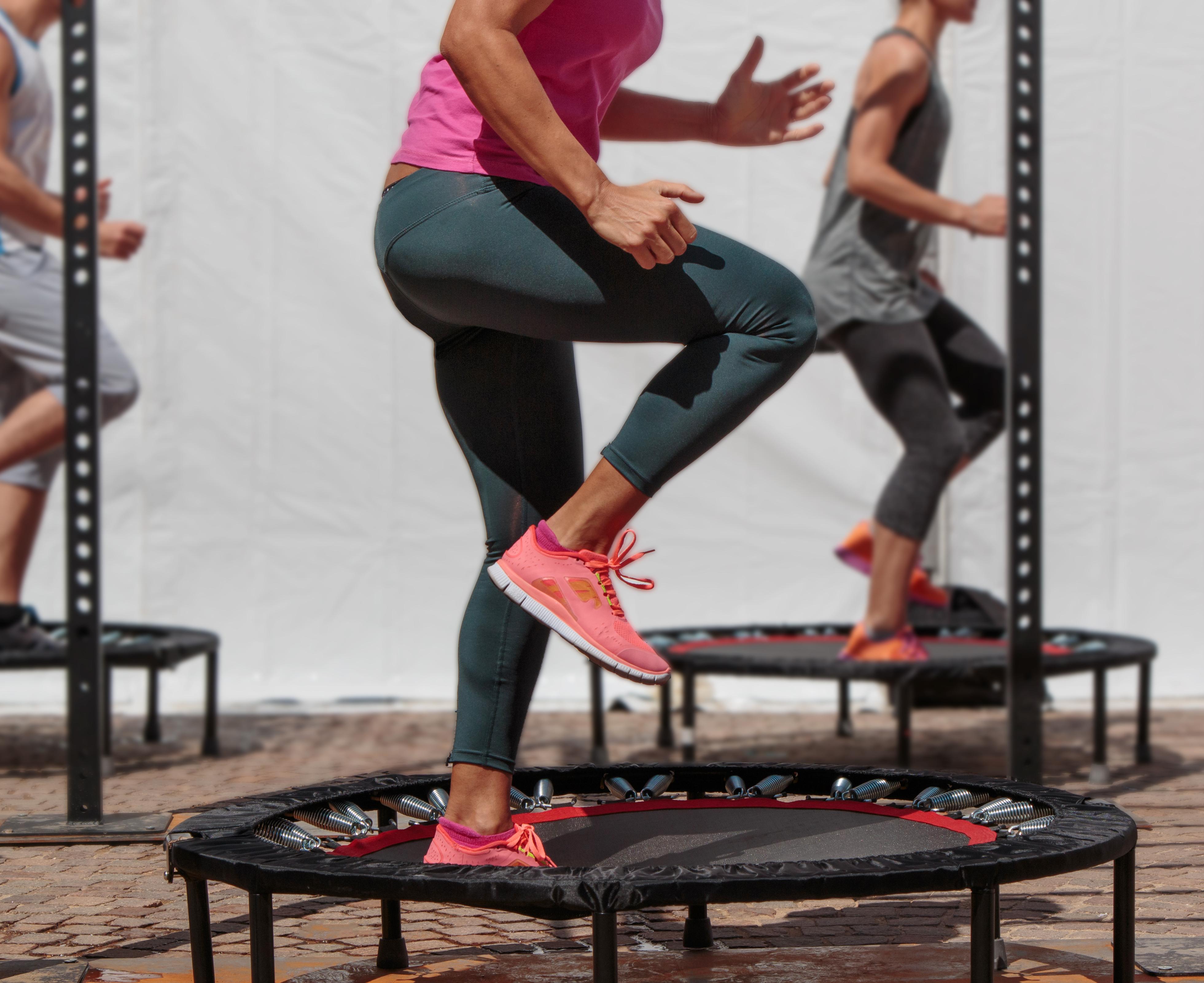 Les trampolines de sport pour le fitness
