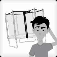 Installer son trampoline à plat