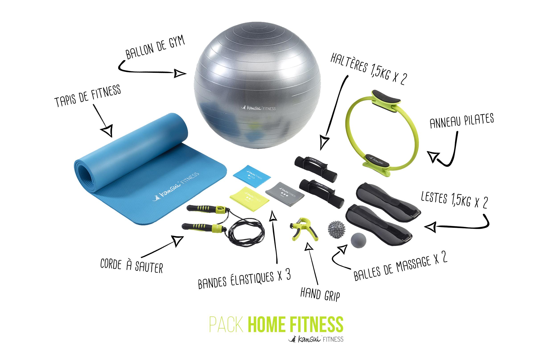 Pack Home Fitness de Kangui