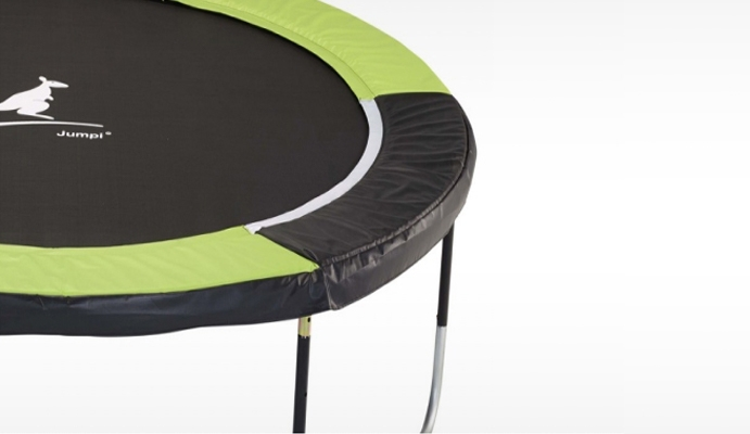 structure trampoline de jardin jumpi sans filet