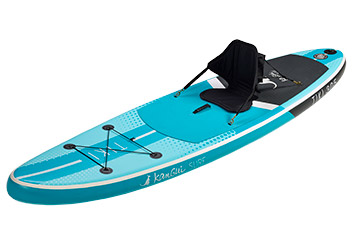 paddle gonflable convertible kayak