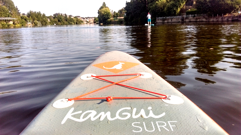 stand up paddle bali glisse sur la mayenne