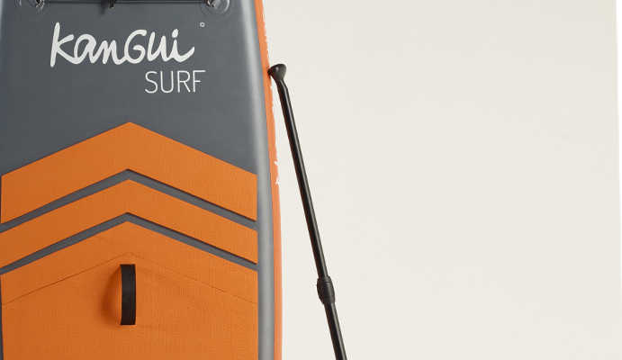 pagaie pour stand up paddle gonflable