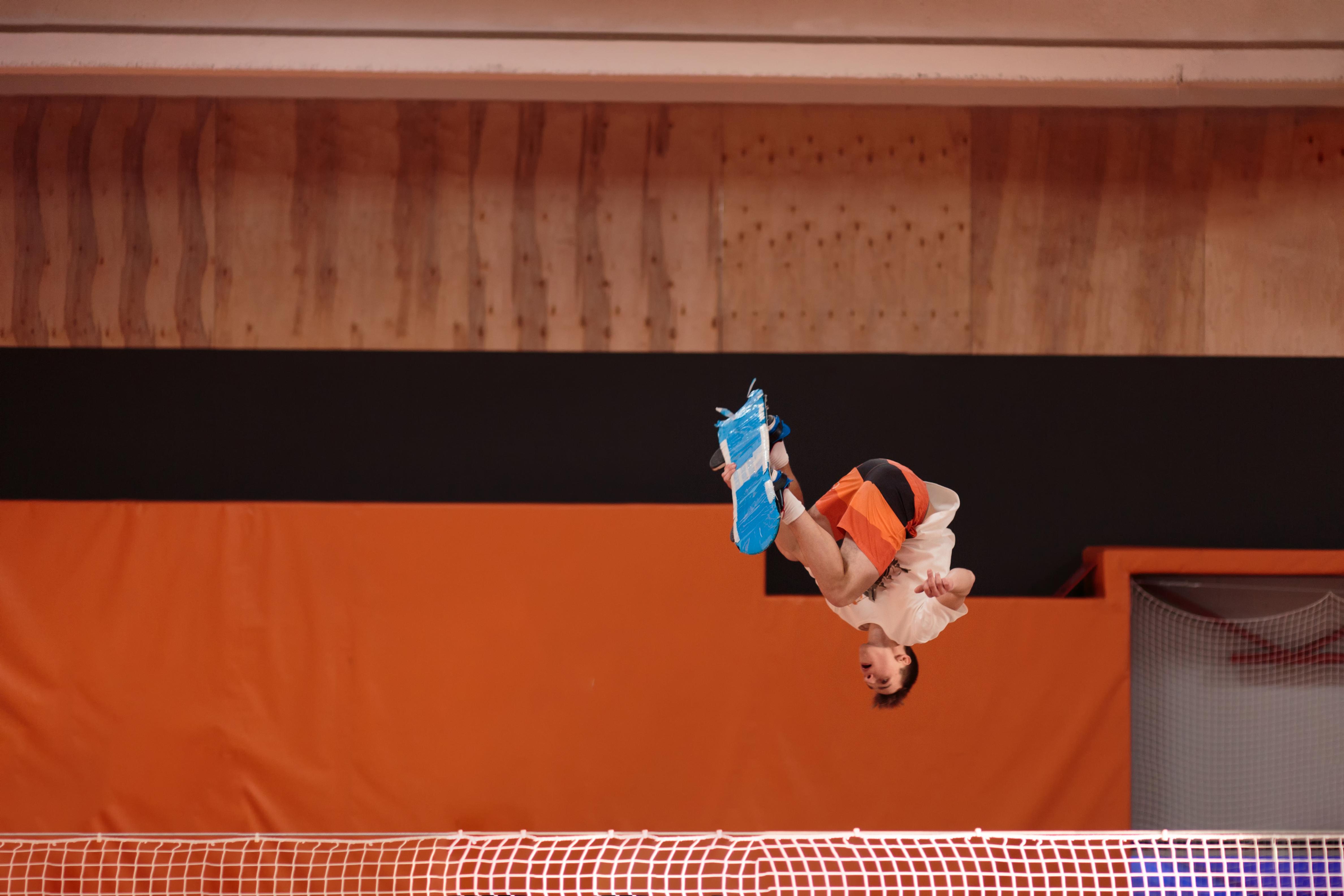 Planche freestyle trampoline