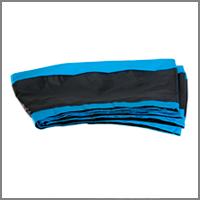 Enveloppe Coussin ATOLL Turquoise Noir