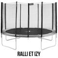 trampoline de gamme Ralli ou Izy